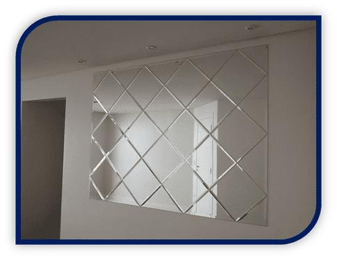 Espelho Bisotê,Orçamento de Espelho Bisotê,Empresa de Espelho Bisotê, Espelho Bisotê em São Paulo,Espelho Bisotê SP,Wolf Vidraçaria.